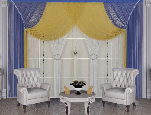 013 Mavi Gümüş Bukle & 019 Sarı Gümüş Bukle